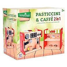 38909, Macchina Del Caffè Con Banco Dei Dolci