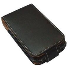 3226019 Custodia a libro Nero, Marrone custodia per cellulare