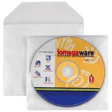 conf. 25 Busta porta CD / DVD trasparente liscio 100460135