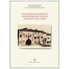 Inventario dell'Archivio storico postunitario del Comune di Montecatini Terme
