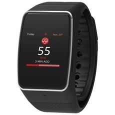 ZeWatch4HR Bluetooth e NFC con Cardiofrequenzimetro Incluso Taglia Regolare Nero - Europa