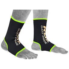 Boxe Fitness Supporto Caviglia Sport Elastica Mma Bandage Piede Fascia Calze Abgn M