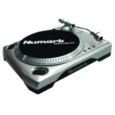 Giradischi Professionale per DJ Connessione USB Nero e Grigio Alluminio 78 RPM TTUSB