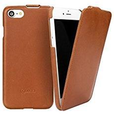 Cuoio Flip iPhone 7 Italian marrone