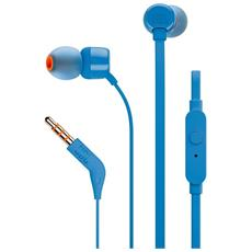Auricolari T110 In-Ear con Microfono Colore Blu