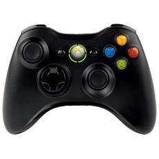 Joystick Joypad Controller Nero Per Xbox 360 X360 Wireless Senza Filo Compatibile Bianco