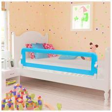 Barriera Di Sicurezza Per Letto Bambino 150 X 42 Cm Blu