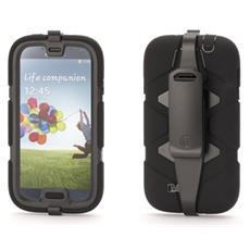 Griffin - Custodia Survivor per Samsung Galaxy S4 - Nera