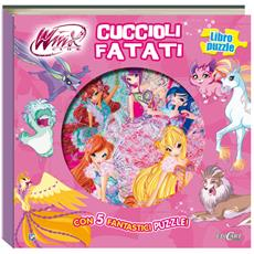 Winx Club - Cuccioli Fatati (Libro Puzzle)