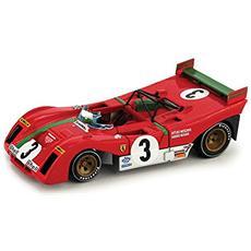 Bm0261b Ferrari 312 Pb N. 3 Winner Targa Florio 1972 Merzario-munari 1:43 Modellino