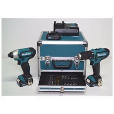 Kit Combo Clx202sax2 Trapano Percussionehp331d + Avvitatore Impulsi Td110d + Valigetta Acc