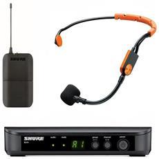 Radiomicrofono Per Istruttori Fitness Blx14e / sm31fh (anti Sudore)