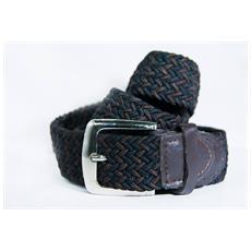 0edbfb102c TAKESTOP - Cintura Uomo Donna Intrecciata Marrone Scuro Nero In Corda Cinta  Tessuto Con Fibbia In Metallo Quadrata Unisex Casual