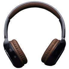 "Arena, Stereofonico, 3.5 mm (1/8"") , Padiglione auricolare, Nero, Marrone, Wired / Bluetooth, Circumaurale"