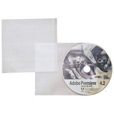 conf. 25. Buste porta CD singolo EdpSystem 12x12cm 100460143