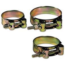 Fascette Stringitubo Professionale 40x43 mm alta resistenza conf. 25 pz Maurer
