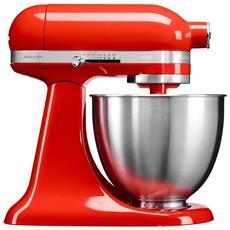 KITCHENAID - 5KSM3311XEHT Robot da Cucina Potenza 250 Watt Capacità Ciotola 3,3 Litri Colore Rosso Paprika