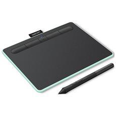 """Tavoletta Grafica 7"""" Connettività Bluetooth 4.2 con Penna Intuos Small Verde Pistacchio"""