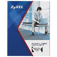 ZyWALL IPSec VPN Client 1 License, 5 MB, Windows VISTA / XP / 2000