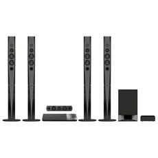 Home Theatre 3D BDV-N9200W Blu-Ray Dolby Digital / Pro Logic 5.1 Potenza 1200 Watt Bluetooth / NFC HDMI / USB Ethernet