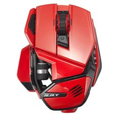 Office R. A. T. M Bluetooth Laser Mano destra Rosso mouse