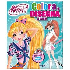 Winx Club - Colora E Disegna