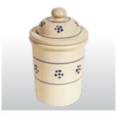 Barattolo In Terracotta - Altezza Cm 15