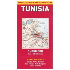 Tunisia 1:850.000