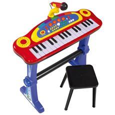 Pianola con sgabello e microfono My Music World