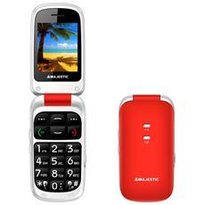"Sileno 41 Arancione Display 2.4"" +Slot MicroSD SOS Radio FM Bluetooth Fotocamera"