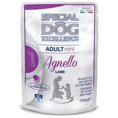 Special Dog Excellence Cane Taglia Piccola, Agnello Gr. 100