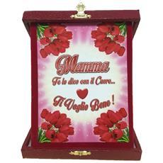 Targa Commemorativa Festa Della Mamma Ti Voglio Bene Ps 05898