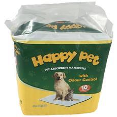 Tappetino 10 Pz 60x60 Happy Pet