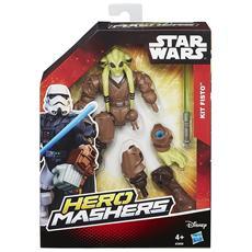 Star Wars Mashers Eroe - Figurine Di Base, Modelli Assortiti, 1 Pezzo -kit Fisto