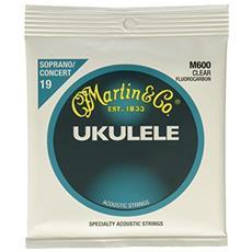 & Co. M600 - Soprano - Muta Per Ukulele Standard.