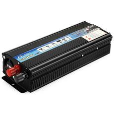 Inverter Per Auto Rettangolo 2000w Dc 12v Ac 220v Caricatore Per Automobile Alimentatore Integrato