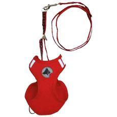 Pettorina Parure P / G Mesh Rosso L: 41-47cm