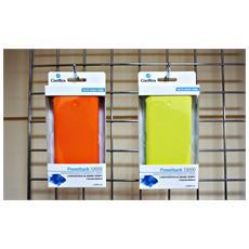 COO-PB10K-YW, Polimeri di litio (LiPo) , USB, Giallo, Micro-USB, Gomma, Universale