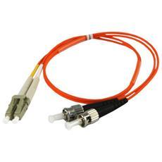 3.0m OM2 LC - ST 3m LC ST Arancione cavo a fibre ottiche