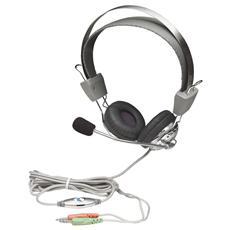 ICC SH-517 - Cuffia Stereo con Microfono con Asta Flessibile
