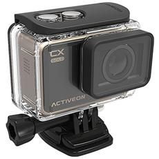 ACTIVEON - Action Cam CX Gold Sensore CMOS 16Mpx Full HD Display LCD Touch 2