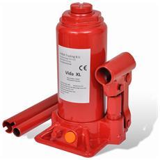 Sollevatore Idraulico 5 Ton Macchinario Rosso Automotive