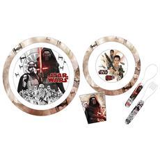 Confezione 5 Pezzi Bimbo Melamina Star Wars Ep7 Mondo Baby