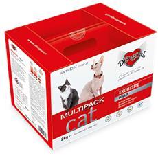 Pollo Exquisite - Multipack Rikarica 2 Kg (4 Confezioni Da 500 G) Gatti Adulti