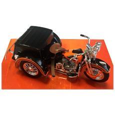 Harley Davidson Servi-car, Arancio / nero 1947 1:18 Modello Escl. collezione