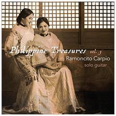 Ramoncito Carpio - Philippine Treasures: Volume 3