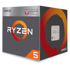 AMD - Processore Ryzen 5 2400G Quad Core 3.6 GHz Socket...
