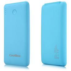 COO-PB6K-BL, Polimeri di litio (LiPo) , USB, Blu, Micro-USB, Gomma, Universale