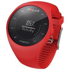 M200 Orologio GPS con Cardiofrequenzimetro Integrato e Monitoraggio Attività Fisica e Sonno Colore Rosso