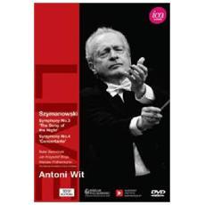 Dvd Szymanowski - Symphonies N. 3-4